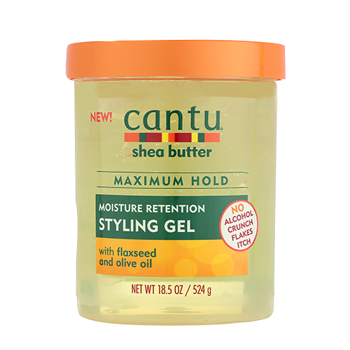 Styling gel container